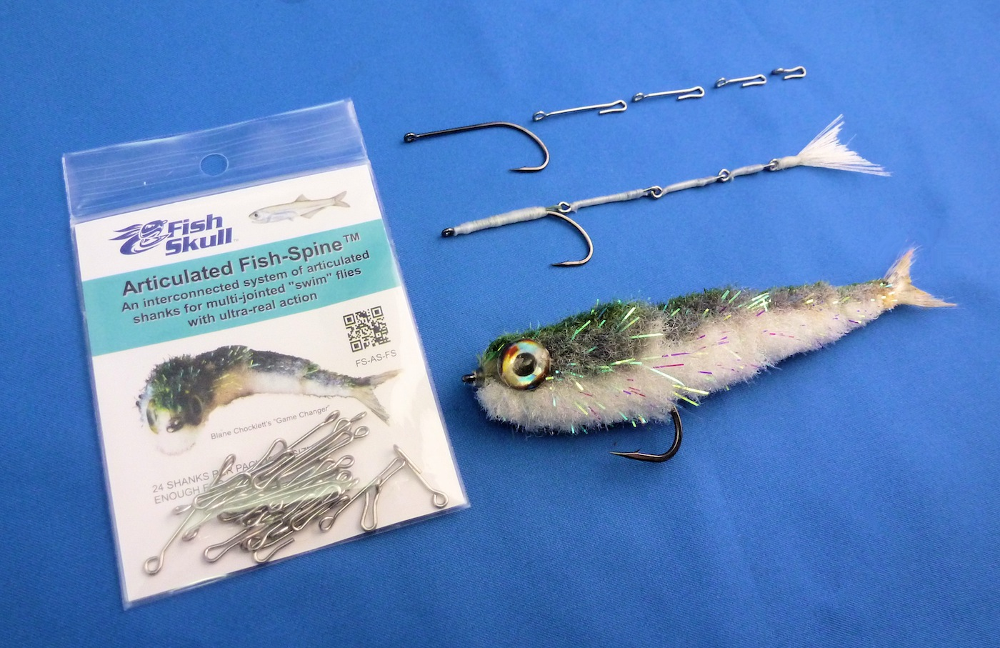 Articulated fish spine add to cart for Fly fishing catalog