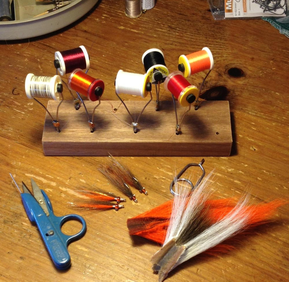 Fly Tying Desks And Benches - Photo chris windram
