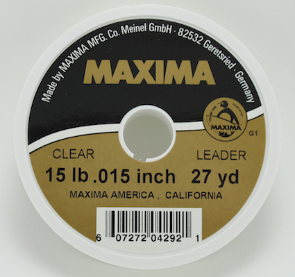 Maxima Clear Tippet & Leader Material