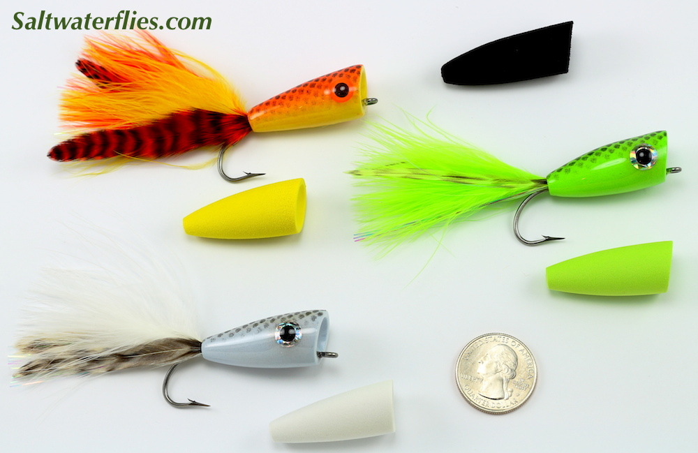 #3//0 Chartreuse NEW FREE SHIPPING Rainy/'s CB In-Shore Popper