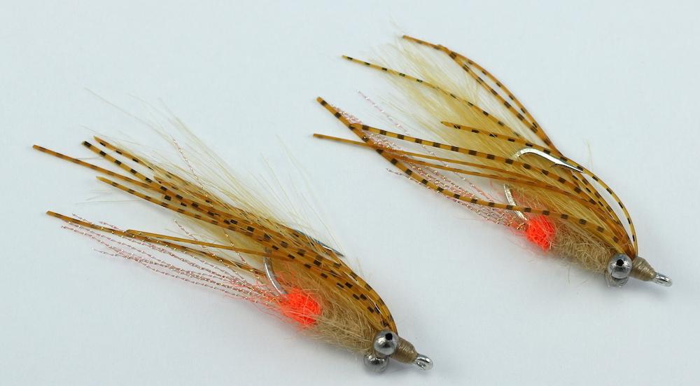 Hott butt rubber legs side for Bonefish fly fishing